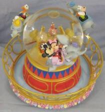Disney Dumbo Ride snowglobe Mickey, Minnie, Goofy and Donald