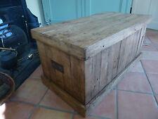 Boîte de Rangement, Couverture, Treasure Chest chêne rustique fait main