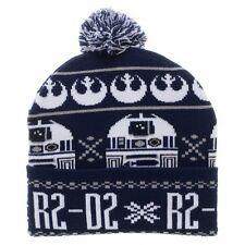 Star Wars Rebel Fairisle Pom Cuff Beanie Hat Cap OSFA Disney NEW! IN STOCK!