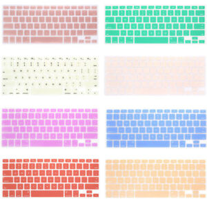 """Silicone Keyboard Cover Soft Case for MacBook Air 13"""" 15"""" 17"""" inch Protector New"""