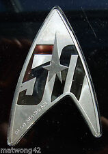 *INVESTMENT Fine Silver Delta Shaped Coin Star Trek 50th Anniversary $1 2016