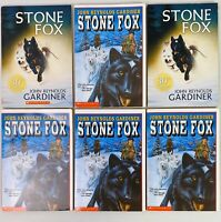 Lot 6 Stone Fox Book Guided Reading Level P Lexile 610L AR 4.0 Grade 4-5