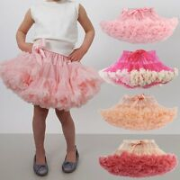 Kids Girls Cake Pettiskirt Fluffy Tutu Skirts Party Princess Dance Dress 0-10Y