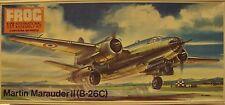 Frog 1/72 Martin B-26C Marauder II Medium Bomber WWII 1972 Kit #F338 Started