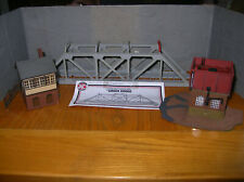 OO Gauge Dapol Girder Bridge + Water Tower & Signal Box