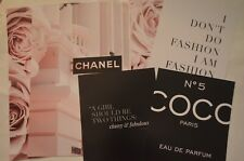 Lot of (6) COCO CHANEL Advertisement Wall Art Prints (Reproductions)