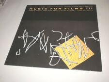 MUSIC FOR FILMS III -  ENO/BUDD/LANOIS/BROOK/THEREMIN - LP OPAL RECORDS - FT
