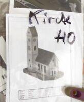 Faller H0 Alte Kirche noch eingeschweißt, Bausatz 1:87