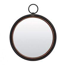 Miroirs noirs rondes pour la décoration intérieure
