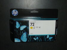 NEW Genuine HP DESIGNJET 72 YELLOW 130ML INK CARTRIDGE C9373A 8/2017