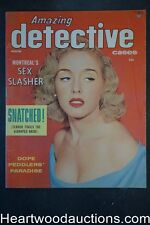 Amazing Detective Winter 1954
