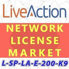 L-SP-LA-E-200-K9 LiveAction Enterprise Perpetual License,200 Devices,E-Delivery