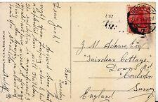 Family History Postcard - Adams - Downs Road - Coulsdon - Surrey - Ref 2380A