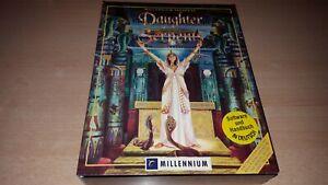 """PC Game Rarität - Daughter of Serpents - Millenium - Deutsch - Big Box - 3,5"""" HD"""