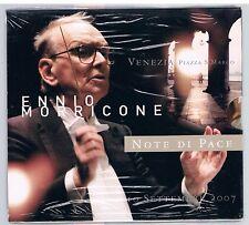 ENNIO MORRICONE NOTE DI PACE VENEZIA SETTEMBRE 2007 CD SIGILLATO!!!