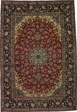 Antique Traditional Najafabad Persian Oversized Rug Oriental Area Carpet 11X16