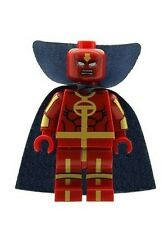 Custom Minifigure Red Tornado Superhero Batman Printed on LEGO Parts