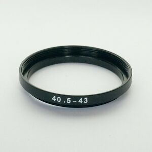 STEP UP ADAPTER 40.5MM-43MM STEPPING RING 40.5MM TO 43MM 40.5-43 FILTER ADAPTOR