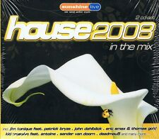 House 2008 in the Mix - NEU - 2 CD Enur Feat. Natasha Azzido Da Bass Tomcraft