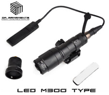 SF Style M300B Tactical LED Scoutlight 280 Lumen light torch Airsoft 20mm Rail