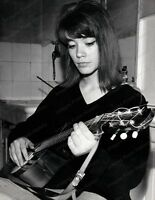 8x10 Print Francoise Hardy French Actress Model 1968 #FH03
