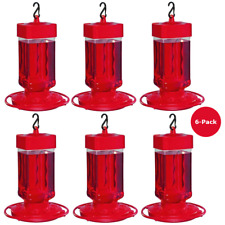 6-Pack First Nature Large HummingBird Feeder 3055 Wide Opening for Easy Cleaning