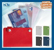 Porta carte di credito da Uomo Donna Card Portatessere Portacarte bigliettini