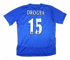 Chelsea 2004-05 Authentic Home Shirt Drogba #15 (Excellent) XL Soccer Jersey
