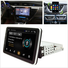 "Universal 1DIN 9""Touch Rotatable Screen HD Car Stereo Radio GPS Wifi Mirror Link"
