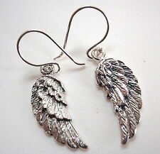 Feathered Wings Earrings 925 Sterling Silver Corona Sun Jewelry freedom flight