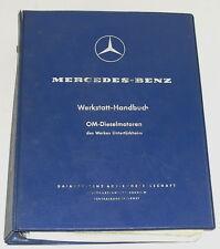 Taller de manual de mercedes benz motor diésel OM 636 + OM 621 Ponton Unimog, etc.