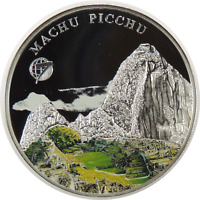 2008  500 TOGROG MONGOLIA SILVER MACHU PICCHU PROOF LOW MINTAGE!   (092520)