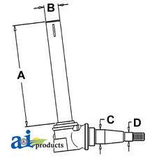 John Deere Parts SPINDLE LH/RH AR58607 940, 2355N, 2155 (HI-STRAIGHT AXLE),2120,
