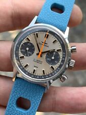 Vintage Dugena ' Carrera ' Chronograph Mens Watch 36mm Valjoux 7733 Ref. 73321