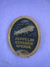 "German 1920's Post WW1  Badge ""Zeppelin Eckener Spende""..Maker's Mark,Pin 1st"