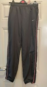 Urban Renewal Vintage Nike Nylon Sport Track Pants Joggers Grey L Good Condition
