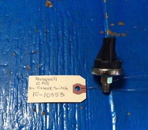 Honeywell 10-10353 Air Pressure Switch 10 PSI