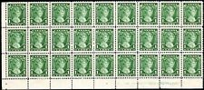 Canada Princess Elizabeth 1 cent Big Corner Block of 27 - Scott 211 - Mnh Vf