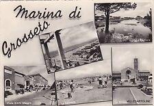 # MARINA DI GROSSETO:  5 VEDUTE   1963