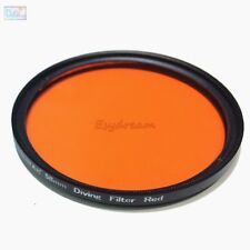 Waterproof 58 52 67 Red Filter for Diving Underwater Photography Camera Gopro