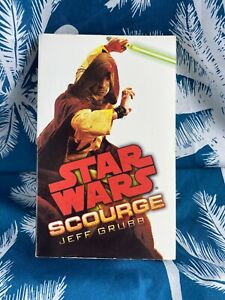 Star Wars: Scourge By Jeff Grubb -1st Edition- 2012 - Small Paperback Book