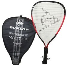 """DUNLOP POWER RACQUET MASTER PERFORMANCE - FOR RACQUETBALL 3 7/8"""" GRIP USED"""