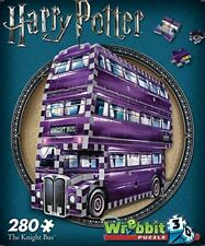 puzzle poster wrebbit linea harry potter the Knight bus