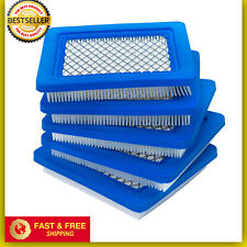 5 Pcs Lawn Mower Air Filter Replacement For Briggs Stratton Craftsman Toro Honda