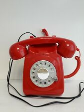 Red Vintage/Retro Style Telephone Model GPO746 Rotary