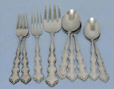 New listing Oneida Deluxe Stainless Flatware Mozart Dinner Fork Teaspoon Table Soup Spoon