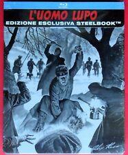 blu ray disc steelbook l'uomo lupo the wolf man rare metalbox alex ross horror d