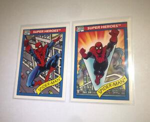 1990 Marvel Universe Series 1 Impel Cosmic Spider-Man #30 Card #29
