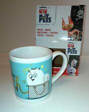 Gidget Childs 8oz Mug SECRET LIFE OF PETS I don't get out much LITTLE WHITE DOG