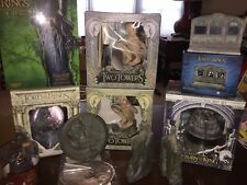 Lord Of The Rings Weta Collectibles Huge 9 Piece Lot! Includes New Gandalf Bust!